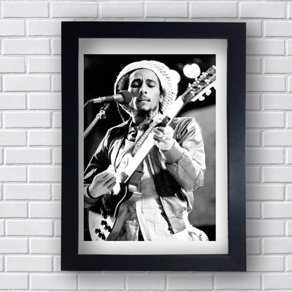 Quadro Decorativo Bob Marley