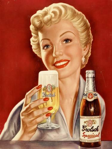 Placa Decorativa Retro Cerveja Grolsch PDV013