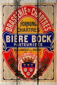 Placas Decorativas Cerveja Biere Bock PDV358