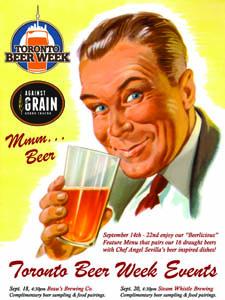 Placas Decorativas Cerveja Toronto Beer Fest PDV356