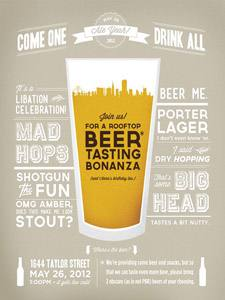 Placas Decorativas Cerveja Beer Tasting PDV341