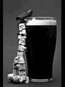Placas Decorativas Cerveja Lego Vader Star Wars PDV343