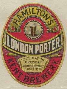Placas Decorativas Cerveja Hamilton´s London Porter PDV326