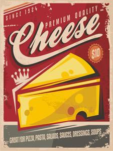 Placa Decorativa Queijo Cheese para cozinha PDV524