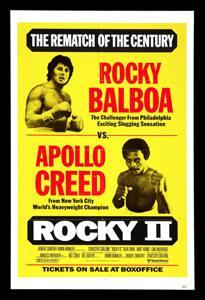 Placa Decorativa Rocky Balboa Filme PDV492