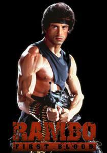 Placas Decorativas de Filmes Rambo PDV490