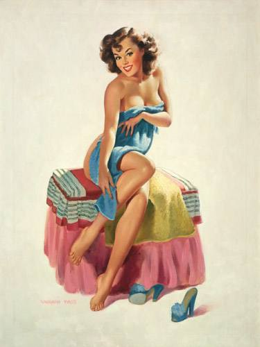 Placa Decorativa Vintage Retro Pin Up Woman PDV144