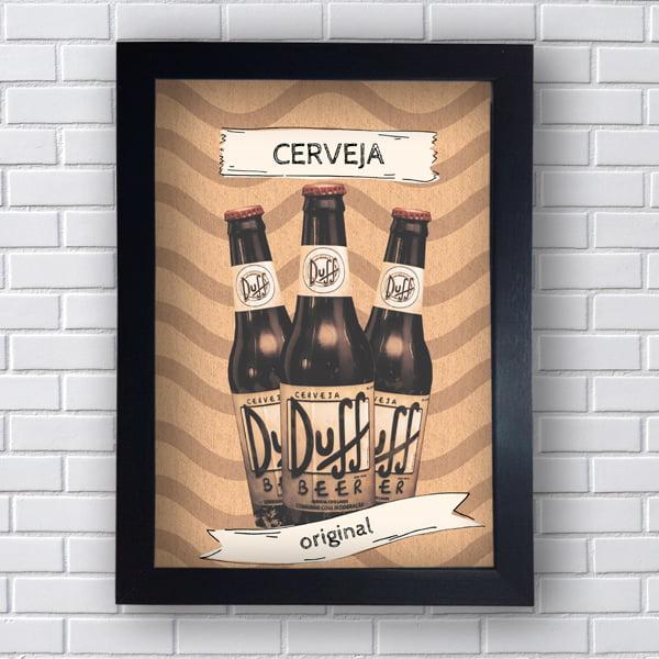 Quadro Decorativo Duff Beer Original