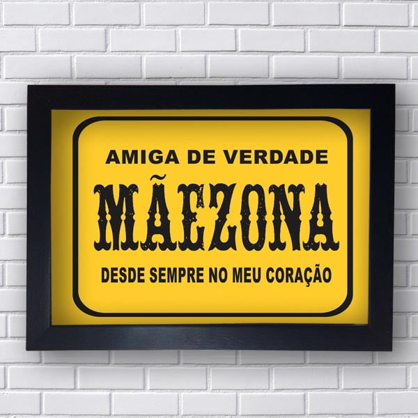 Quadro Decorativo Maezona