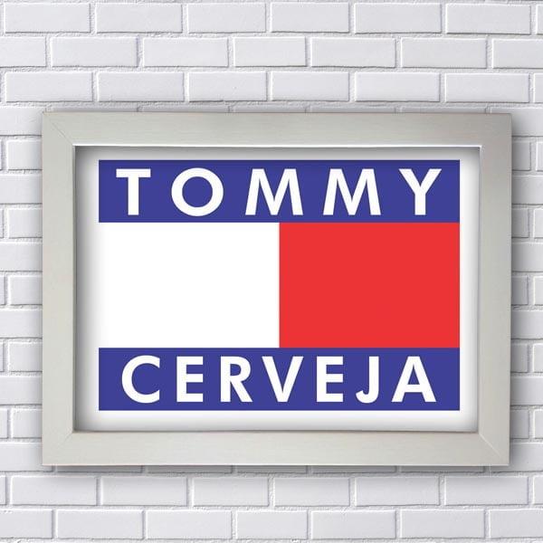 Quadro Decorativo Tommy Cerveja