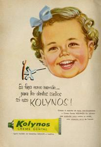 Placa Decorativa Vintage Propaganda Kolynos PDV419