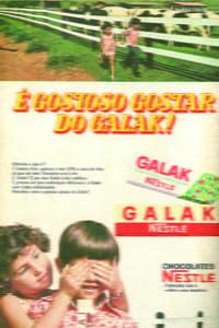 Placas Decorativas Galak Nestle Propaganda Antiga Vintage PDV423