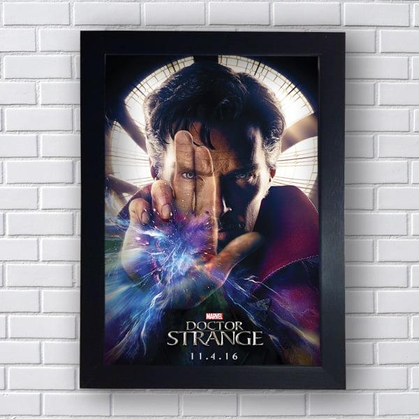 Placa Quadro Decorativo Doctor Strange