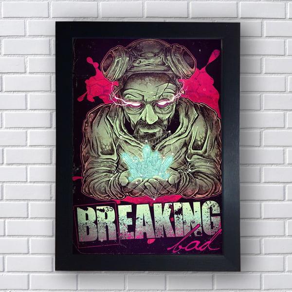 Placa Quadro Decorativo Breaking Bad Lançamento