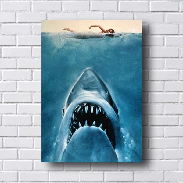 Quadro Decorativo Filme Tubarão