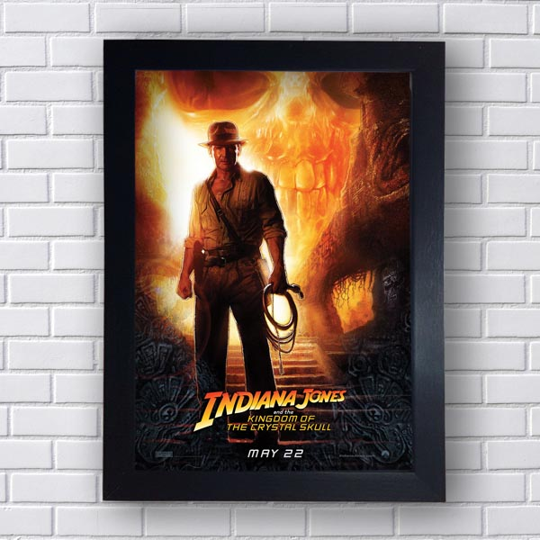 Quadro Decorativo Indiana Jones