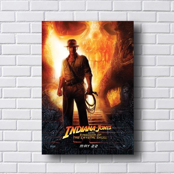 Quadro Decorativo Indiana Jones