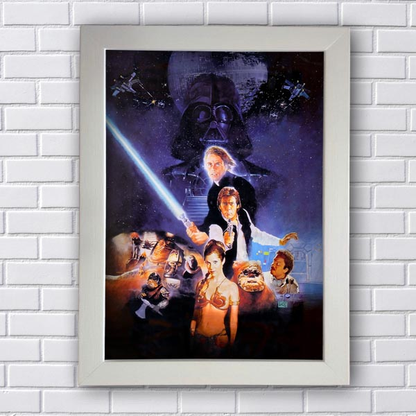 Quadro Decorativo Star Wars Darth Vader