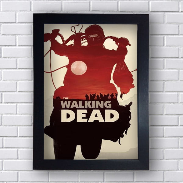 Quadro Decorativo The walking Dead