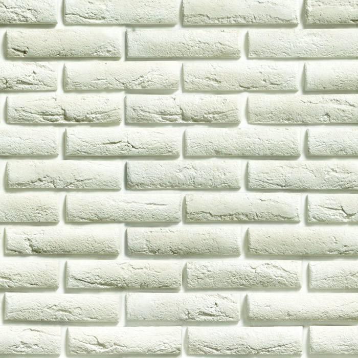 Papel de Parede Tijolo Branco Adesivo Autocolante PD07