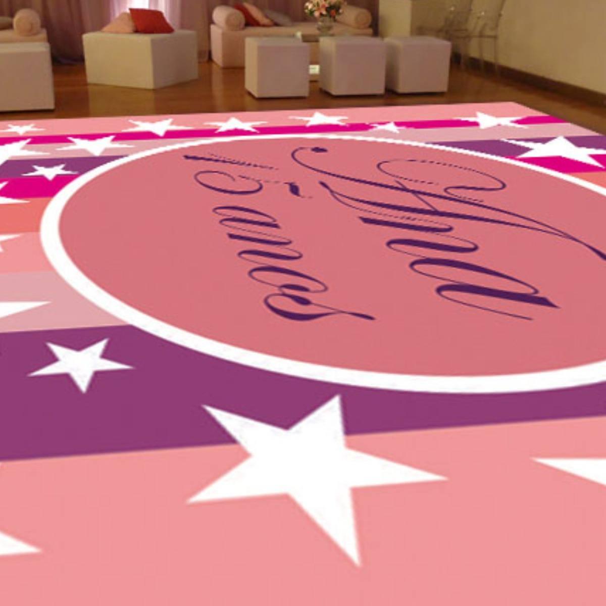 Adesivo Pista de Dança para Festa Personalizado