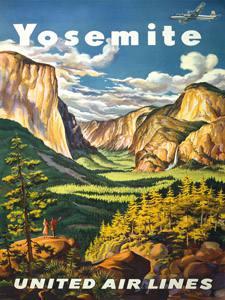 Placa Decorativa Yosemite Parque Cartão Postal PDV588