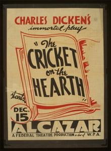 Placa Decorativa Cricket Poster Retro Postal PDV569