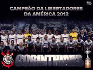 Placa Decorativa Corinthians Libertadores 2012 PDV456