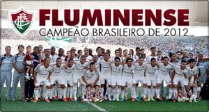 Placa Decorativa Fluminense 2012 PDV459