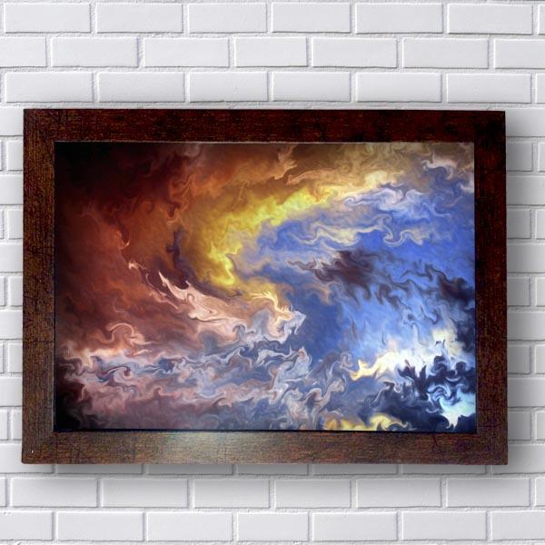 Quadros Modernos Nuvens Escuras