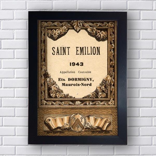 Quadro Saint Emilion