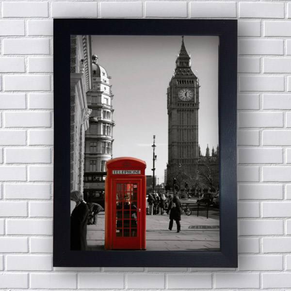 Quadro Londres Big Ben Telephone