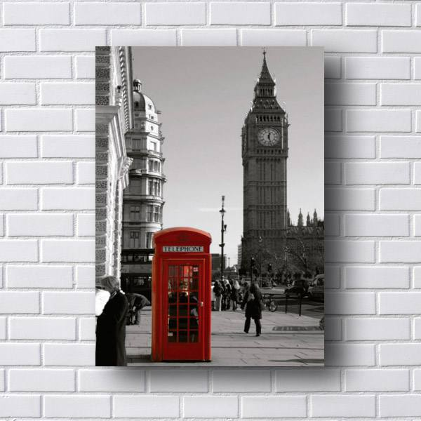 Quadro Londres Big Ben Telephone