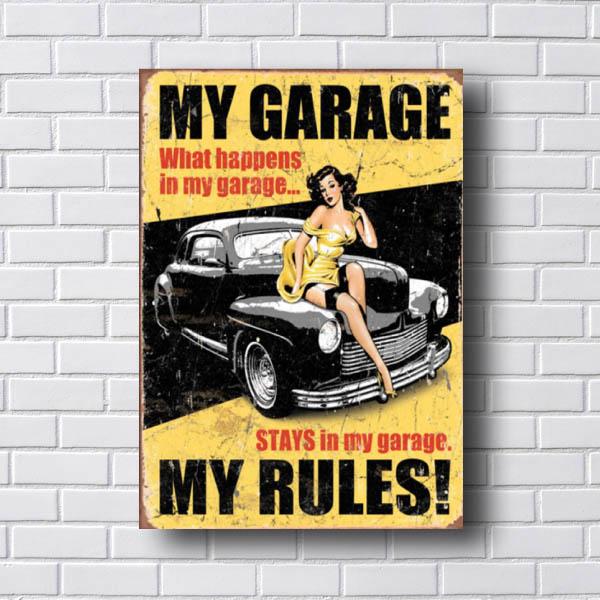 Quadro Carro My Garage