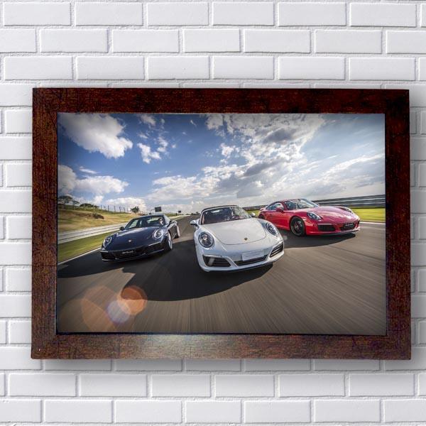 Quadro Porsche Trio