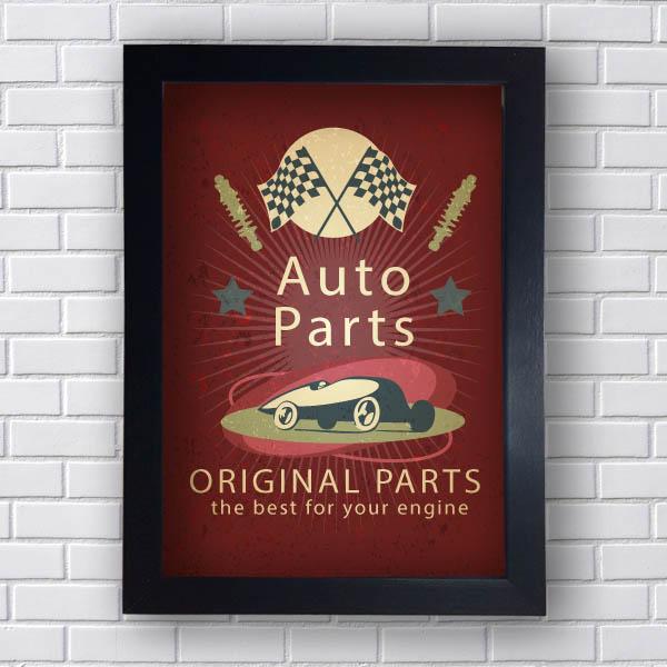 Quadro Vintage Auto Parts