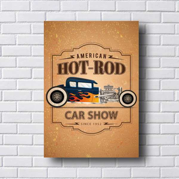 Quadro Vintage Car Show
