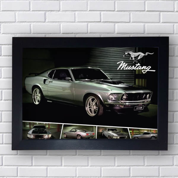 Quadro vintage Ford Mustang Classic