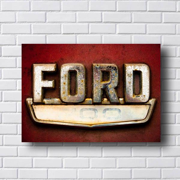 Quadro Vintage Ford Retro