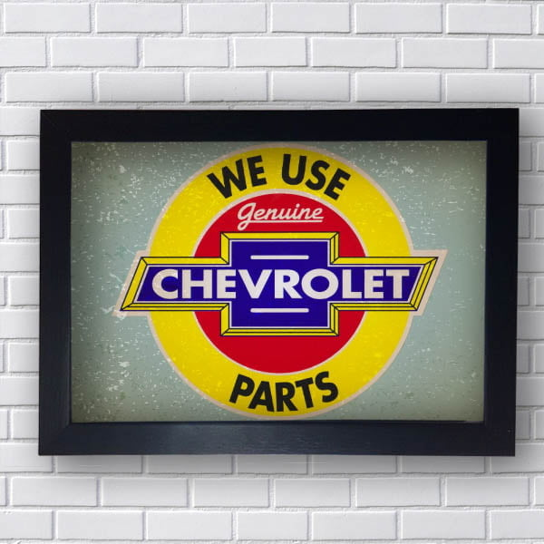 Quadro We Use Chevrolet
