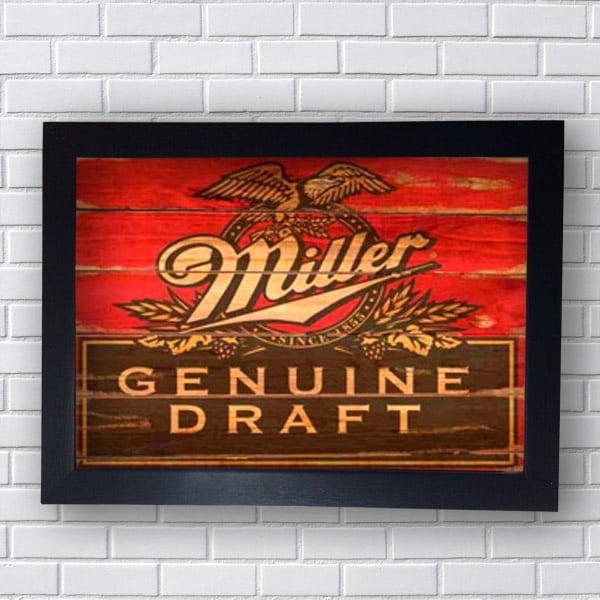 Quadro Miller Genuine Draft