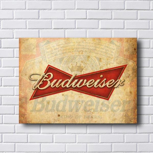 Quadro Budweiser Vintage