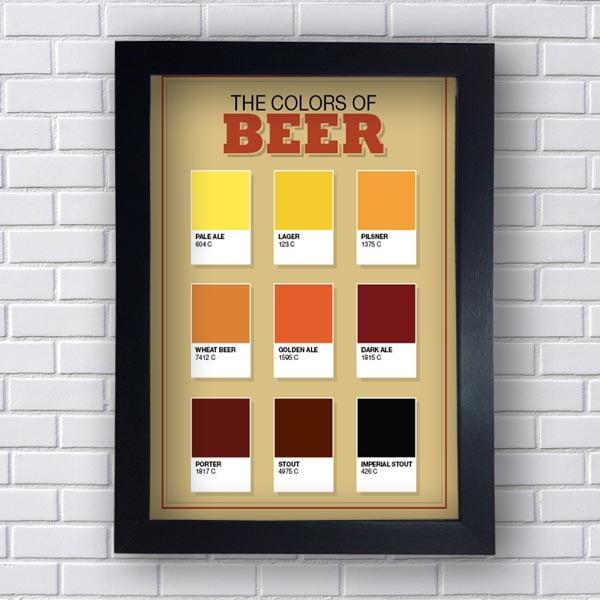 Quadro Decorativo Colors Beer