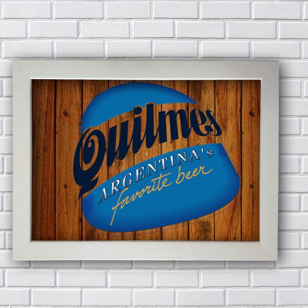 Quadro Quilmes Favorite Beer