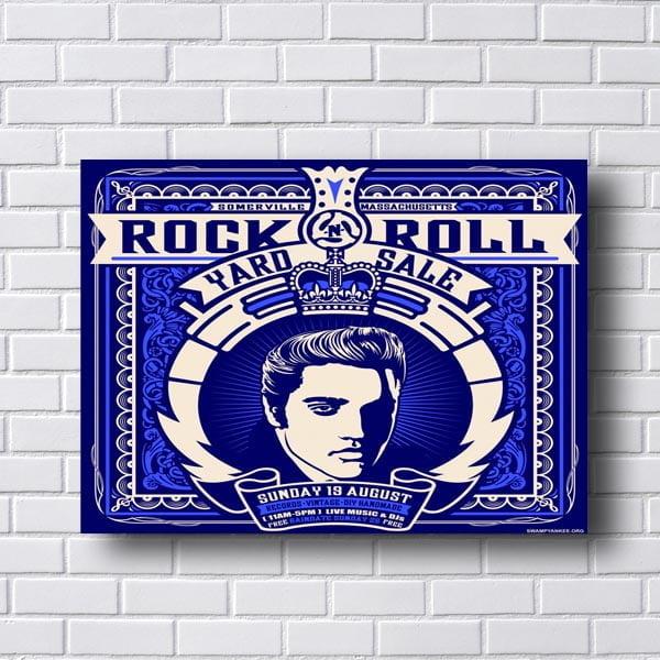 Quadro Rock Roll Elvis