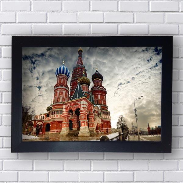 Quadro Decorativo Moscou