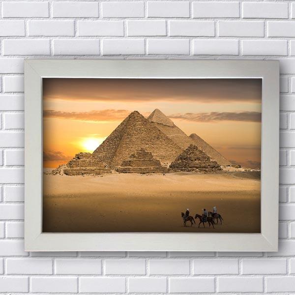 Quadro Piramides Egito