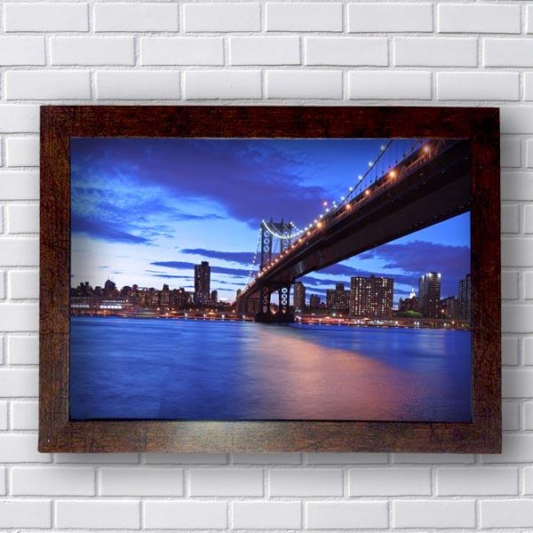 Quadro Ponte Iluminada