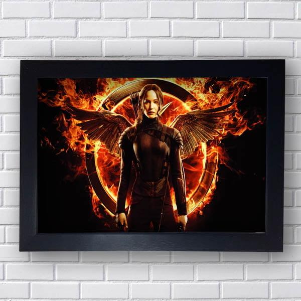 Quadro Katniss Everdeen Jogos Vorazes