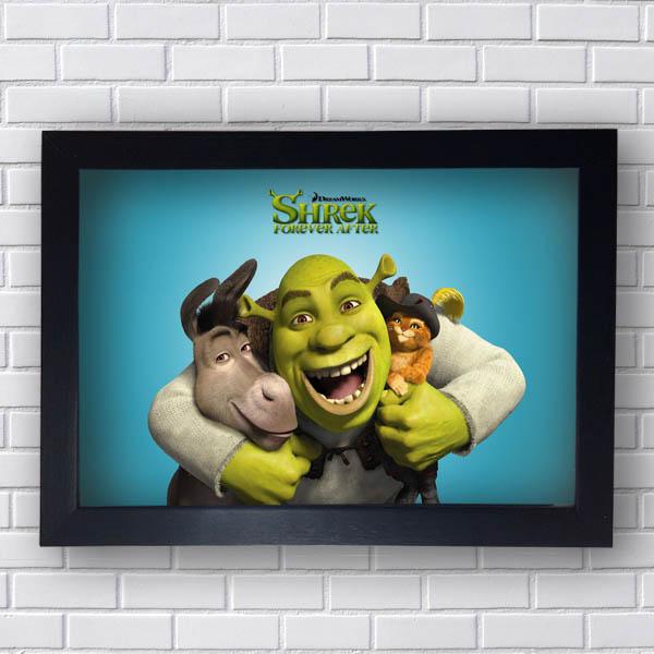 Quadro Shrek Forever